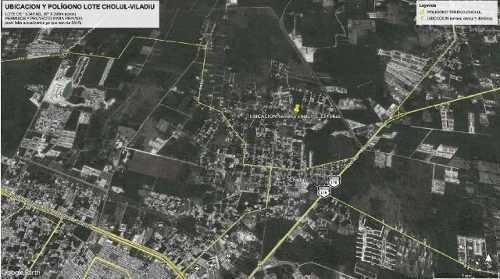 magnifico terreno en venta de 13,345m2 en cholul