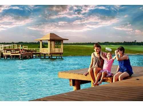 magnífico terreno en venta en yucatan country club frente hoyo 8 kanha