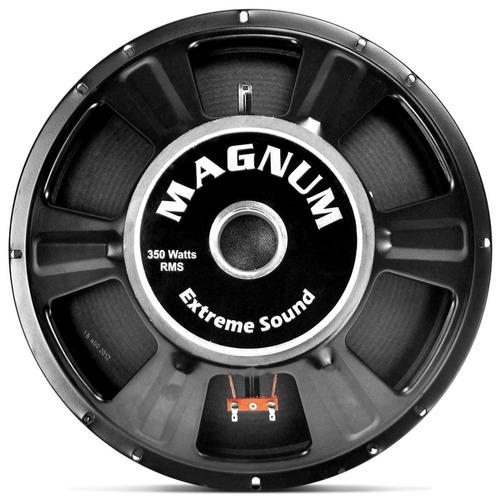 magnum alto falante par woofer