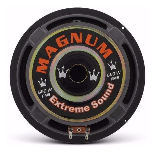 magnum auto falante subwoofer rex 8 polegada 650w rms 4 ohms