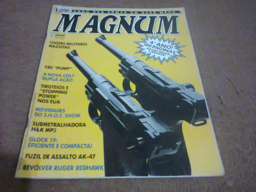 magnum nº 19 - março/abril de 1990