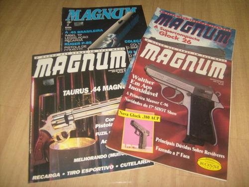 magnum - revistas magnum - dezenas de números