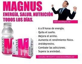 magnus ominlife:  energético + envio gratis + regalo