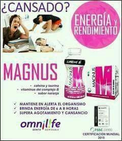 magnus omnilife.energizante/afiliate 100%producto auténtico.