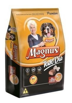 magnus premium cães adultos todo dia carne 15 kg