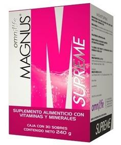 Magnus Supreme + Star Bien Pack, Omnilife Suplementos