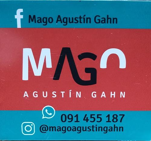 mago agustín gahn - show de magia y humor - niños - adultos