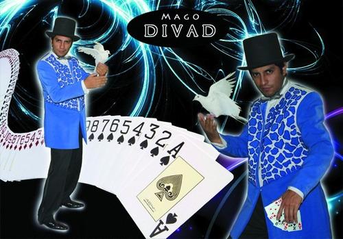 mago divad show magia profesional (magia,ventriloquia, fuego