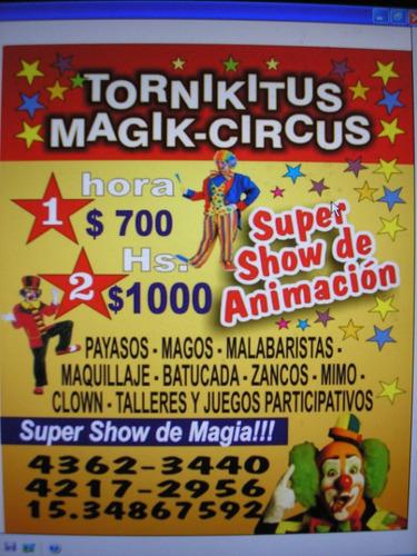 mago-fiestas infantiles...tornikitus...