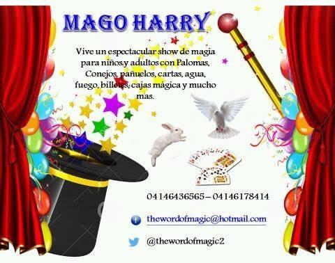 mago harry show de magia para todo tipo de eventos