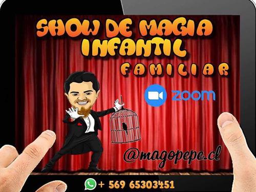 mago infantil show virtual