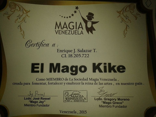 mago kike -show de magia profesional para toda la familia