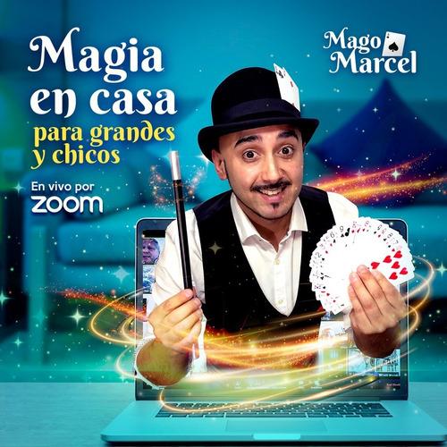 mago magia show virtual zoom animación animadores