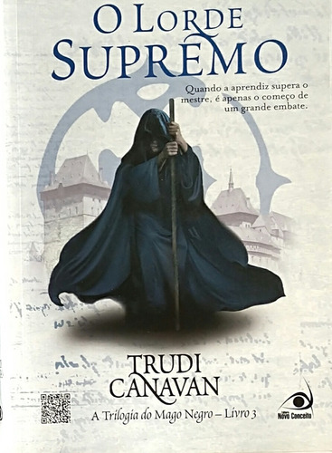 mago negro trudi canavan com 3 livros da trilogia semi_novo
