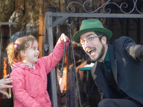 mago pablo santurio magia cómica para fiestas y eventos