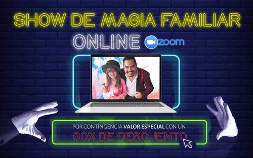 mago show de magia cumpleaños presencial y virtual por zoom
