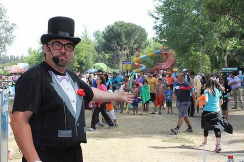 mago show de magia+humor cumpleaños infantiles entretencion