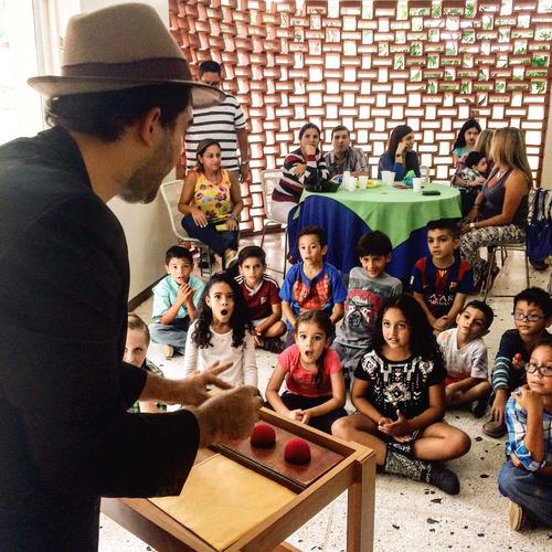 mago veniz magia comica para niños y adultos!
