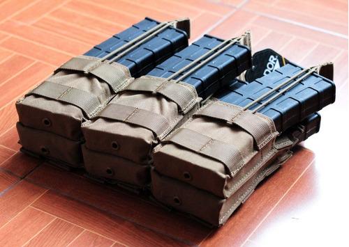 magpouch cartuchera 6 cargadores condor m4 5.56 airsoft