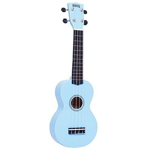 mahalo ukuleles mr1lbu rainbow series soprano ukelele