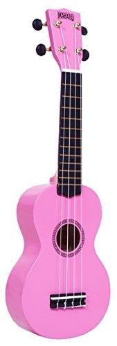 mahalo ukuleles mr1pk rainbow series soprano ukelele