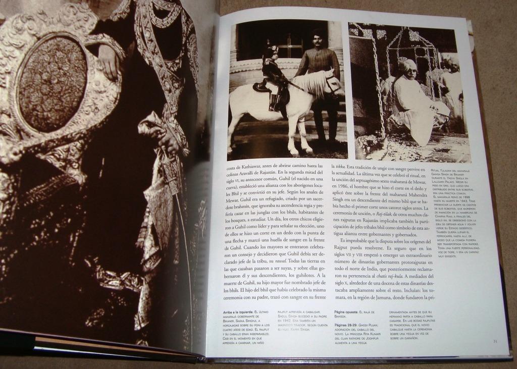 Maharajas India Vestimentas Fotos Color Costumbre Tigres Etc - $ 700 ...