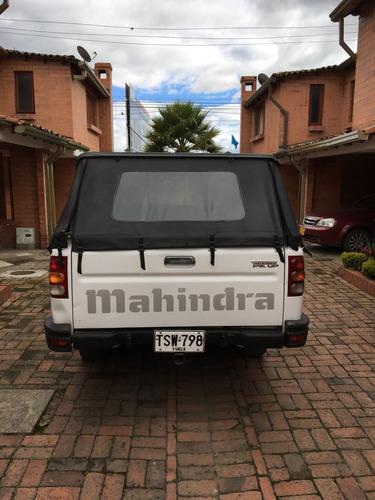 mahindra 2012 doble cabina 4x2
