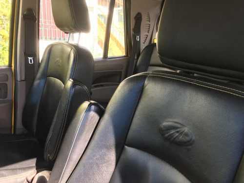 mahindra camioneta pickup 4x4 unica expectacular doble cabin