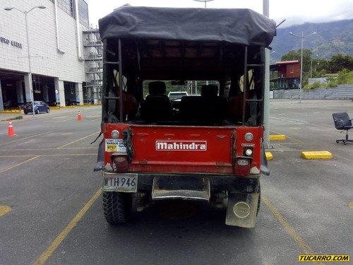 mahindra campero