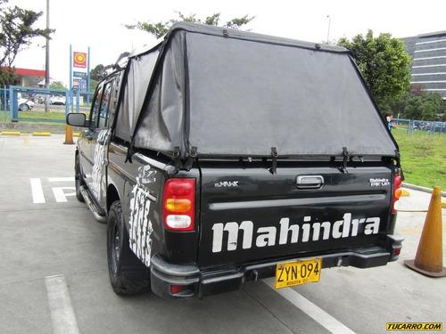mahindra pick up camioneta doble cabina