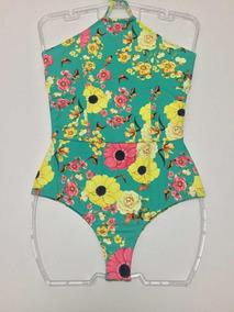 b5dcfa0fc Body Floral Feminino Frente Unica - Calçados, Roupas e Bolsas no ...