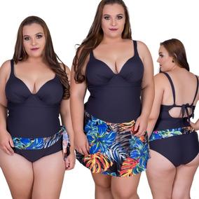 048b3aa5b Maio Canga Embutido - Maiôs e Biquinis Femininos com o Melhores Preços no Mercado  Livre Brasil