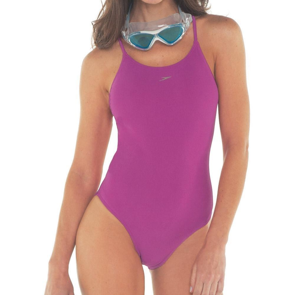maiô de natação speedo skinny - cor rosa. Carregando zoom. e063224b823
