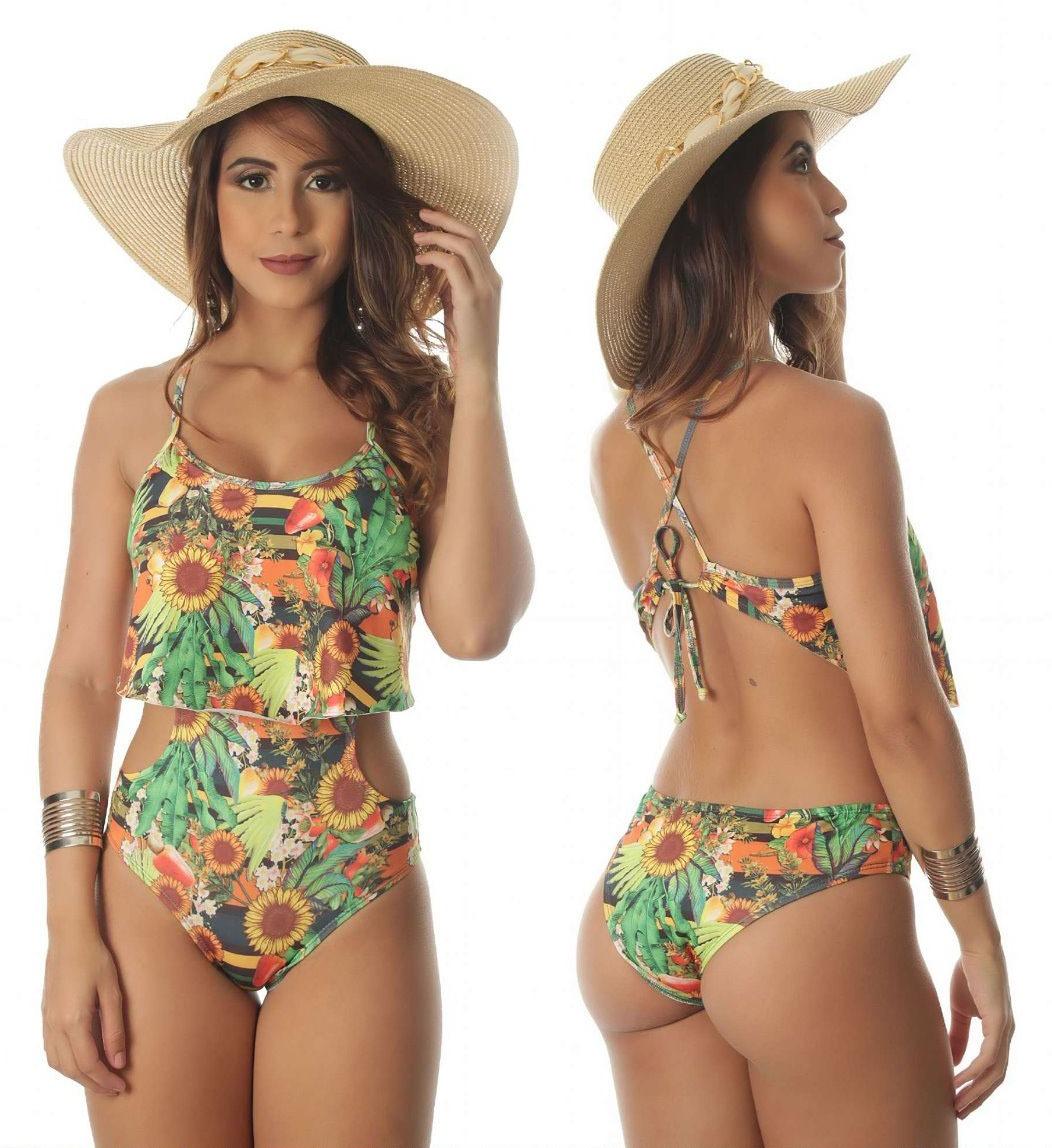 6a13f15bd maiô feminino engana mamãe lycra moda praia verão 2019. Carregando zoom.