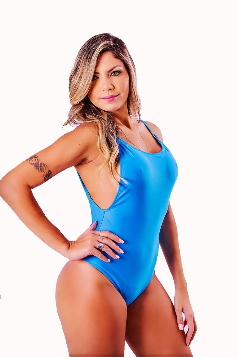 569ca02bc Maiô Body Regatão Cavado Decote U Moda Praia Feminina - R  39