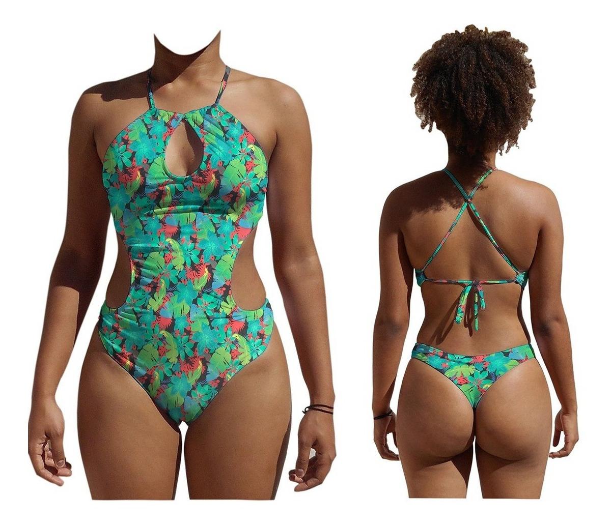 0550097f57e7 Traje De Banho Maiô Feminino Body Moda Praia Verão 2019 - R$ 69,99 ...
