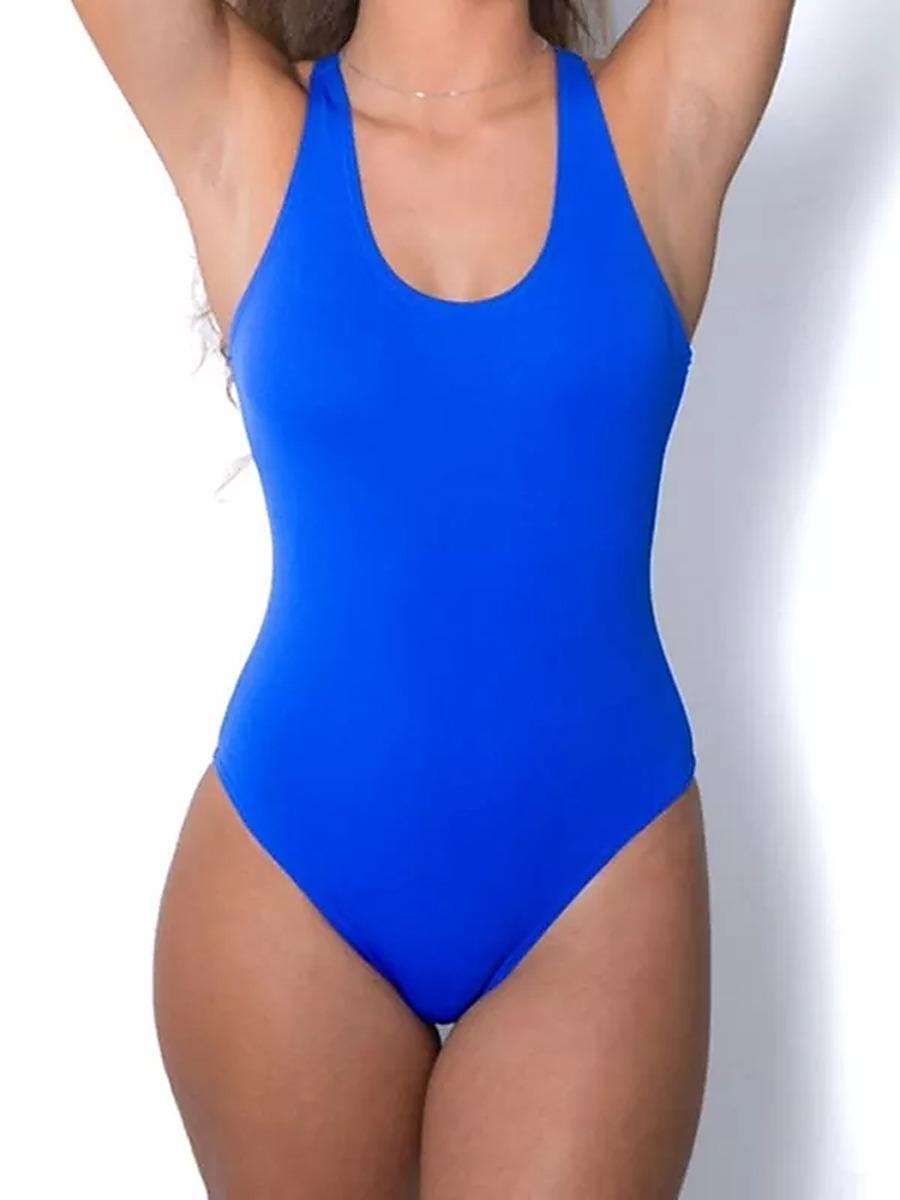 662314013 maiô natação hidroginástica plus size alça nadador 38 ao 54. Carregando zoom .