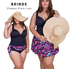 13ed2c964 Maio Com Canga Embutida Mulher - Moda Praia com o Melhores Preços no Mercado  Livre Brasil