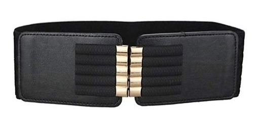 venta barata ee. retro precio limitado Maikun Cinturon Elastico De Cintura Para Dama Cuero Metal 10