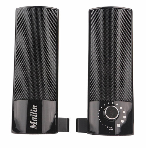 mailin detachable computer speaker, pc speaker, soundbar, la