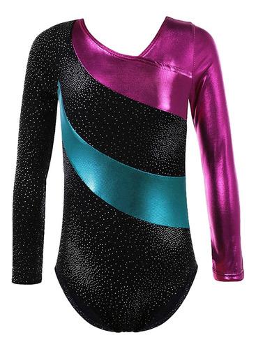 maillot de gimnasia leotardo atlético traje de danza