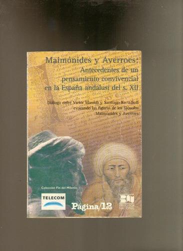 maimónides y averroes  españa andalusí del siglo xii