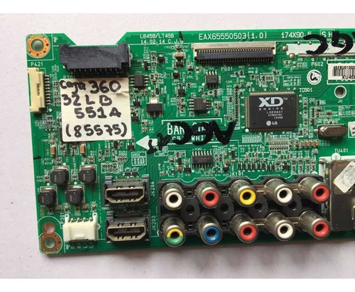 main board tarjeta principal tv lg 32lb551a