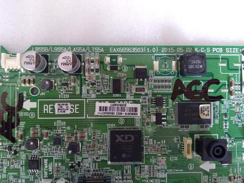 main board tarjeta principal tv lg 32lf510