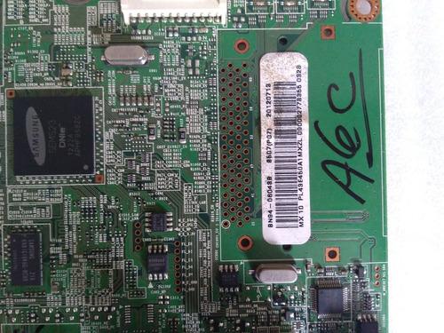main board tarjeta principal tv samsung pl43e450