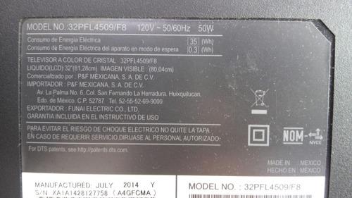 Main Philips Ba4gf2g0201  Mod 32pfl4509  F8
