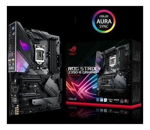 Mainboard Asus Rog Strix Z390 E Gaming 9na 8va Ddr4 Wifi