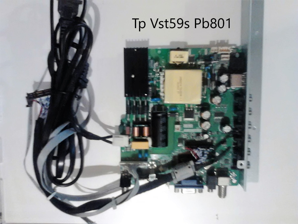 Mainborad Tp Vst59s Pb801 Tv H  @  a  i   e   r - Bs  6 000,00