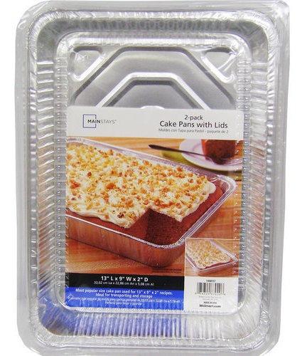 mainstays platos de pastel con tapas, 2 condes