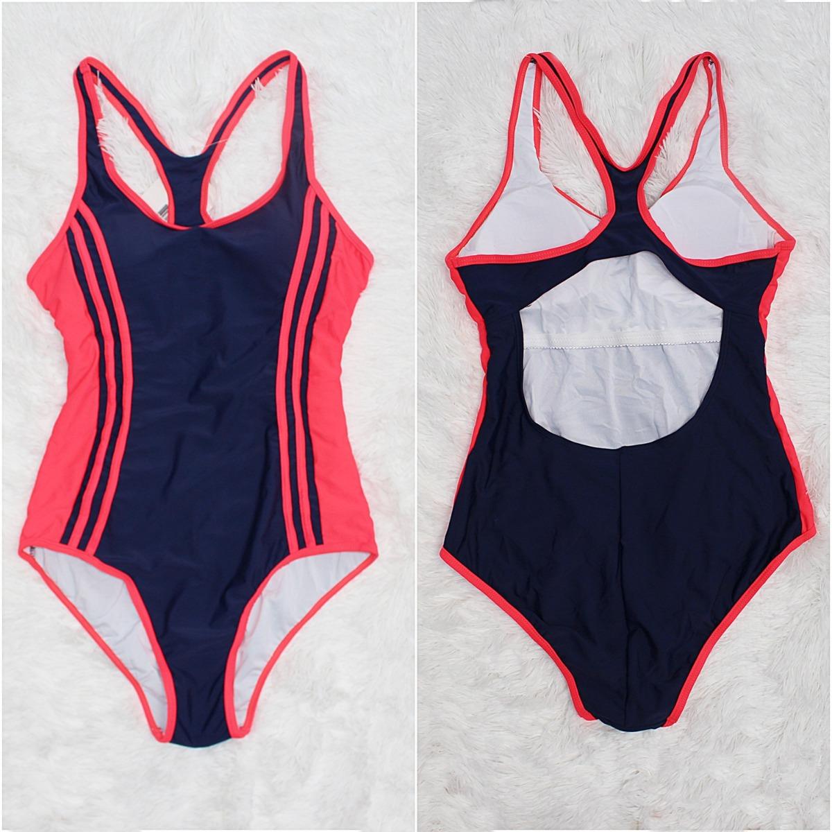 44425716e4a maio hidroginastica estilo adidas nike para natação 8138.  Carregando zoom. 739522c7d53 Maiô Adidas Azul 3s ... 1790ad8262a